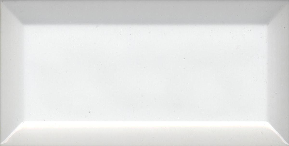 Biselado Metro Blanco Brillo