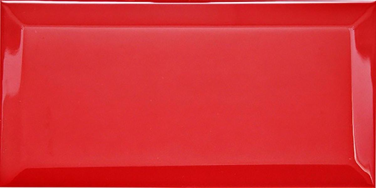 Biselado Metro Red Brillo